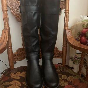 Brand new black riding boots